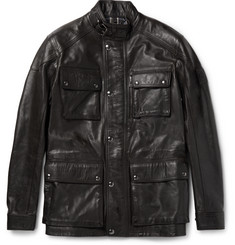 Belstaff Trialmaster Waxed-Leather Jacket