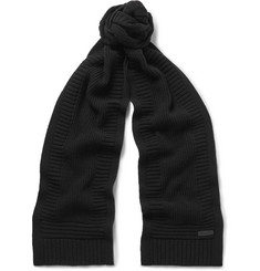 Belstaff Kameron Wool and Cashmere-Blend Scarf