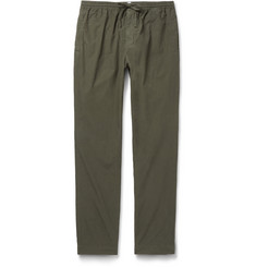 Tomas Maier - Slim-Fit Drawstring Cotton Trousers