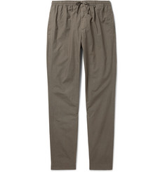 Tomas Maier Slim-Fit Drawstring Cotton Trousers