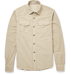 Tomas Maier Slim-Fit Cotton-Corduroy Shirt