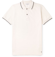 Tomas Maier - Contrast-Trimmed Cotton-Piqué Polo Shirt
