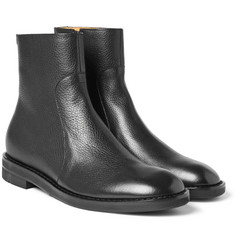 Maison Margiela - Grained-Leather Boots
