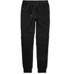 Balmain Slim-Fit Tapered Cotton-Jersey Sweatpants