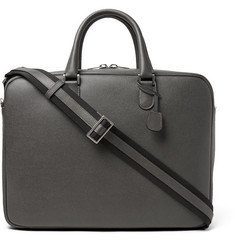 Valextra Soft Avietta Full-Grain Leather Briefcase