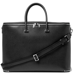 Valextra - Pebble-Grain Leather Holdall