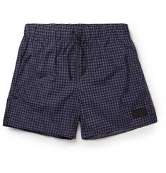 Acne Studios Perry Checked Mid-Length Swim Shorts