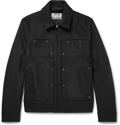 Acne Studios Metal Wool-Blend Jacket
