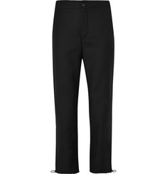 Acne Studios Pace Drawstring-Hem Wool Trousers