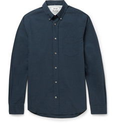 Acne Studios - Isherwood Slim-Fit Button-Down Collar Cotton Oxford Shirt