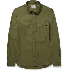 Acne Studios Slim-Fit Cotton-Blend Twill Shirt