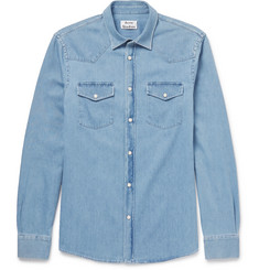Acne Studios Ewing Denim Western Shirt