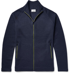 Acne Studios Keep Wool Zip-Up Cardigan