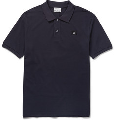 Acne Studios Kolby Cotton-Piqué Polo Shirt