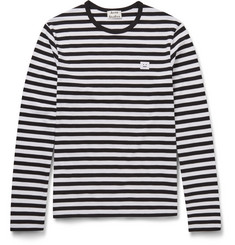 Acne Studios Slim-Fit Striped Cotton-Jersey T-Shirt