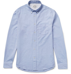 Acne Studios Isherwood Slim-Fit Button-Down Collar Cotton Oxford Shirt