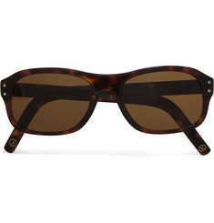 Kingsman - + Cutler and Gross Square-Frame Tortoiseshell Acetate Sunglasses