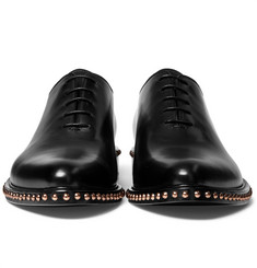 Givenchy - Studded Leather Oxford Shoes