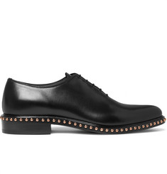 Givenchy Studded Leather Oxford Shoes