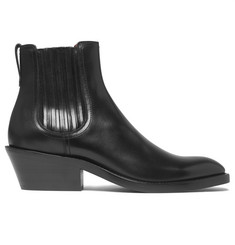Givenchy Cuban-Heel Leather Chelsea Boots