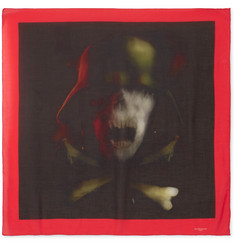 Givenchy - Printed Modal and Cashmere-Blend Scarf