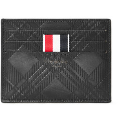 Thom Browne - Embossed Textured-Leather Cardholder
