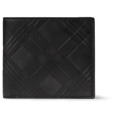 Thom Browne Embossed Textured-Leather Billfold Wallet