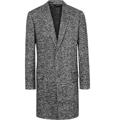 Haider Ackermann Woven Wool-Blend Overcoat