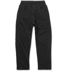Haider Ackermann Grosgrain-Trimmed Loopback Cotton-Jersey Sweatpants