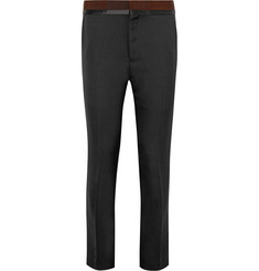 Haider Ackermann - Grosgrain and Satin-Trimmed Wool Trousers