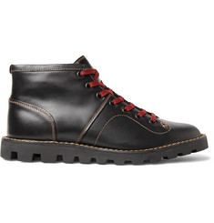 Coach Leather Boxing Boots