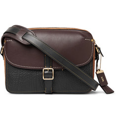 Coach Gotham Suede and Leather Messenger Bag