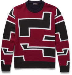 Berluti - Intarsia Wool Sweater