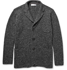 Brunello Cucinelli Mélange Virgin Wool-Blend Cardigan