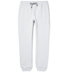 Brunello Cucinelli Fleece-Back Stretch-Cotton Jersey Sweatpants