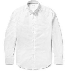 Brunello Cucinelli - Slim-Fit Button-Down Collar Cotton Oxford Shirt