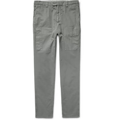 Brunello Cucinelli - Cotton-Twill Cargo Trousers
