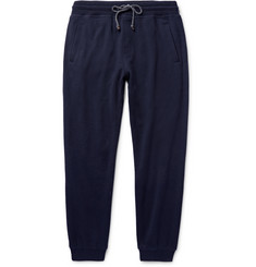 Brunello Cucinelli Tapered Cashmere and Cotton-Blend Sweatpants