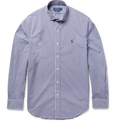 Polo Ralph Lauren Slim-Fit Gingham Cotton-Poplin Shirt
