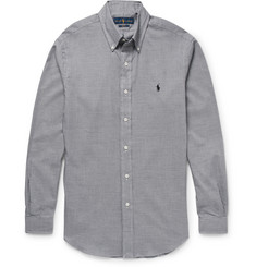 Polo Ralph Lauren Button-Down Collar Houndstooth Cotton Shirt