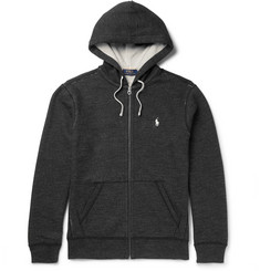 Polo Ralph Lauren Fleece-Back Cotton-Blend Zip-Up Hoodie