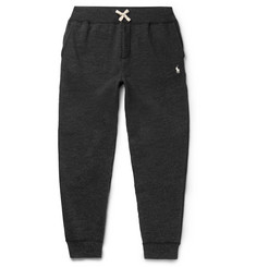 Polo Ralph Lauren Tapered Fleece-Back Cotton-Blend Jersey Sweatpants
