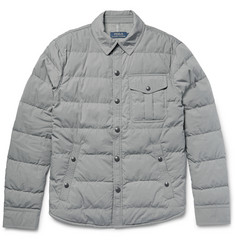 Polo Ralph Lauren Quilted Cotton-Blend Down Jacket