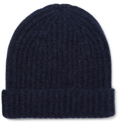 Steven Alan Ribbed Cashmere Beanie
