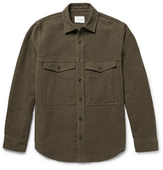 Steven Alan Brushed-Cotton Shirt Jacket