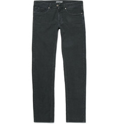 Incotex Slim-Fit Textured Stretch-Cotton Jeans