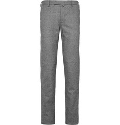 Incotex - Slim-Fit Houndstooth Wool Trousers