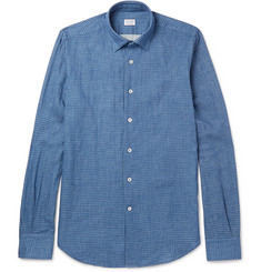 Incotex Kurt Slim-Fit Checked Cotton Shirt