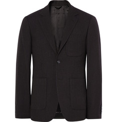 Raf Simons Blue Slim-Fit Virgin Wool Blazer