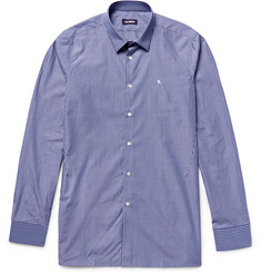 Raf Simons Blue Striped Cotton-Poplin Shirt